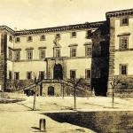 Palazzo dei Principi, Carpegna - una foto dei primi del '900